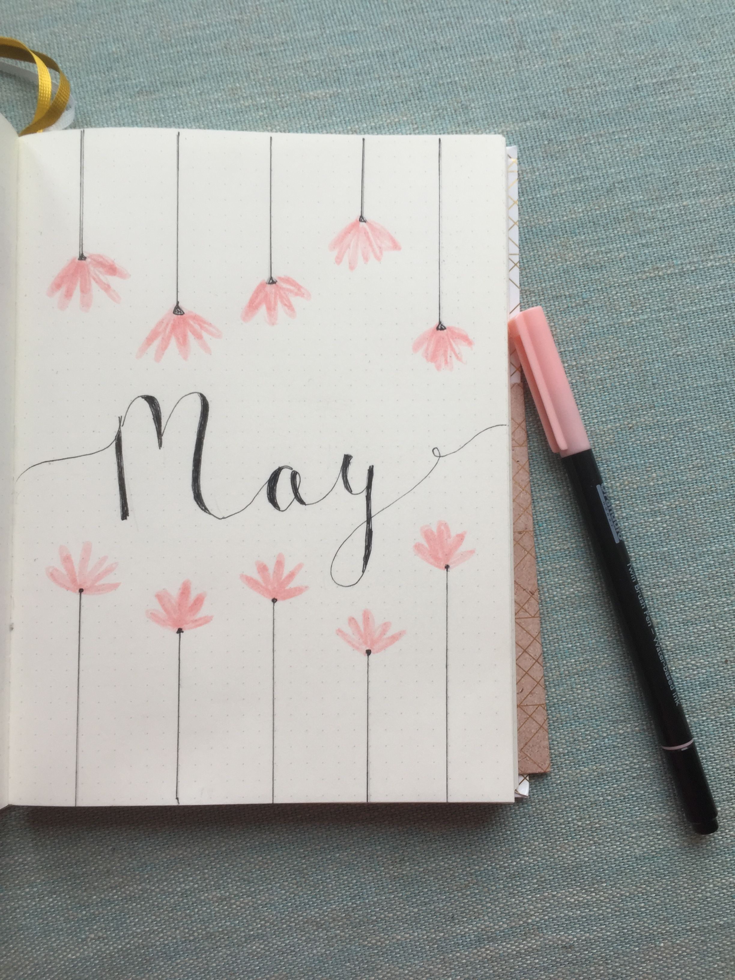 May page Bullet journal ideas #May