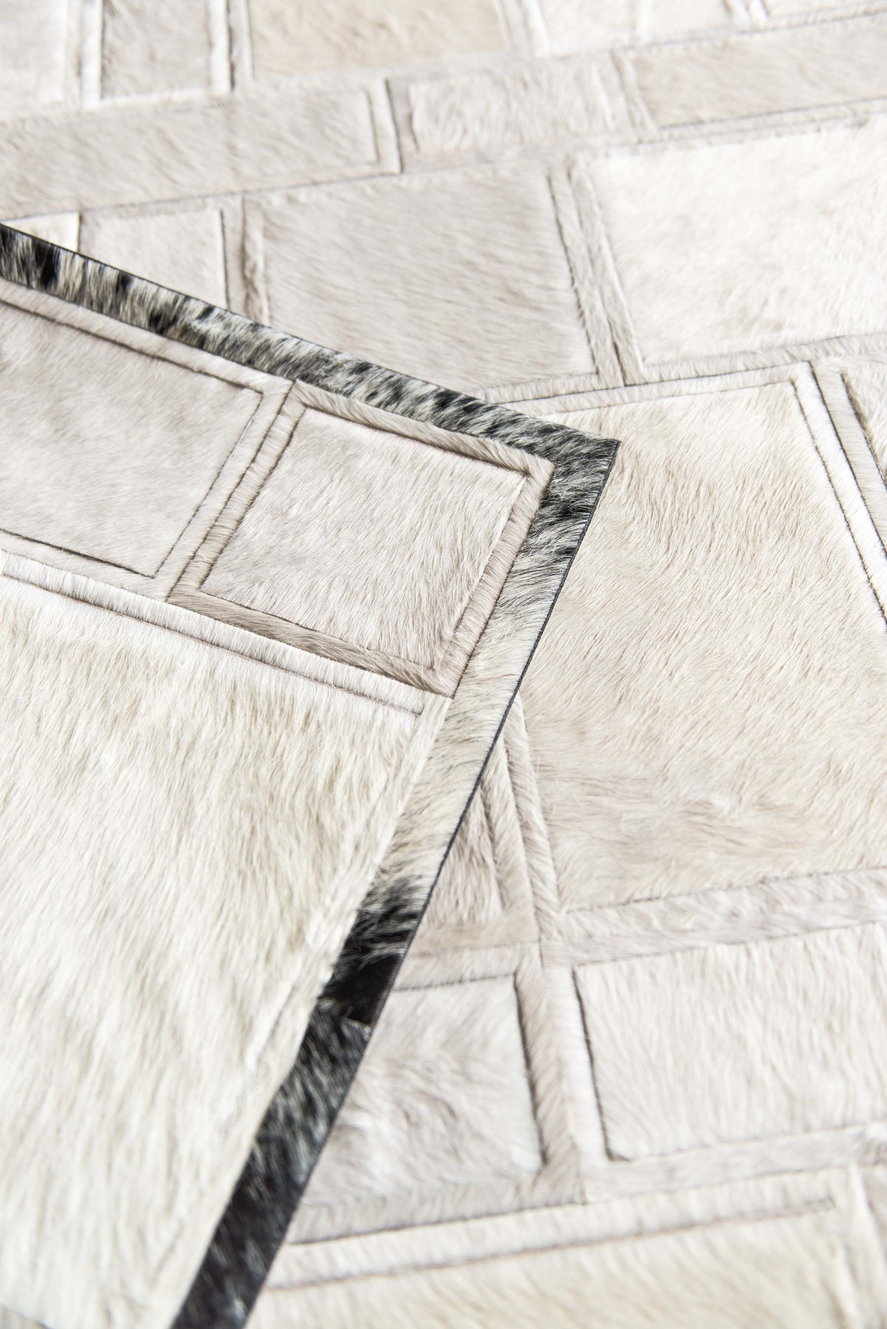 A Cream Confusion With A Black Speckle Border Rug Kyle Bunting