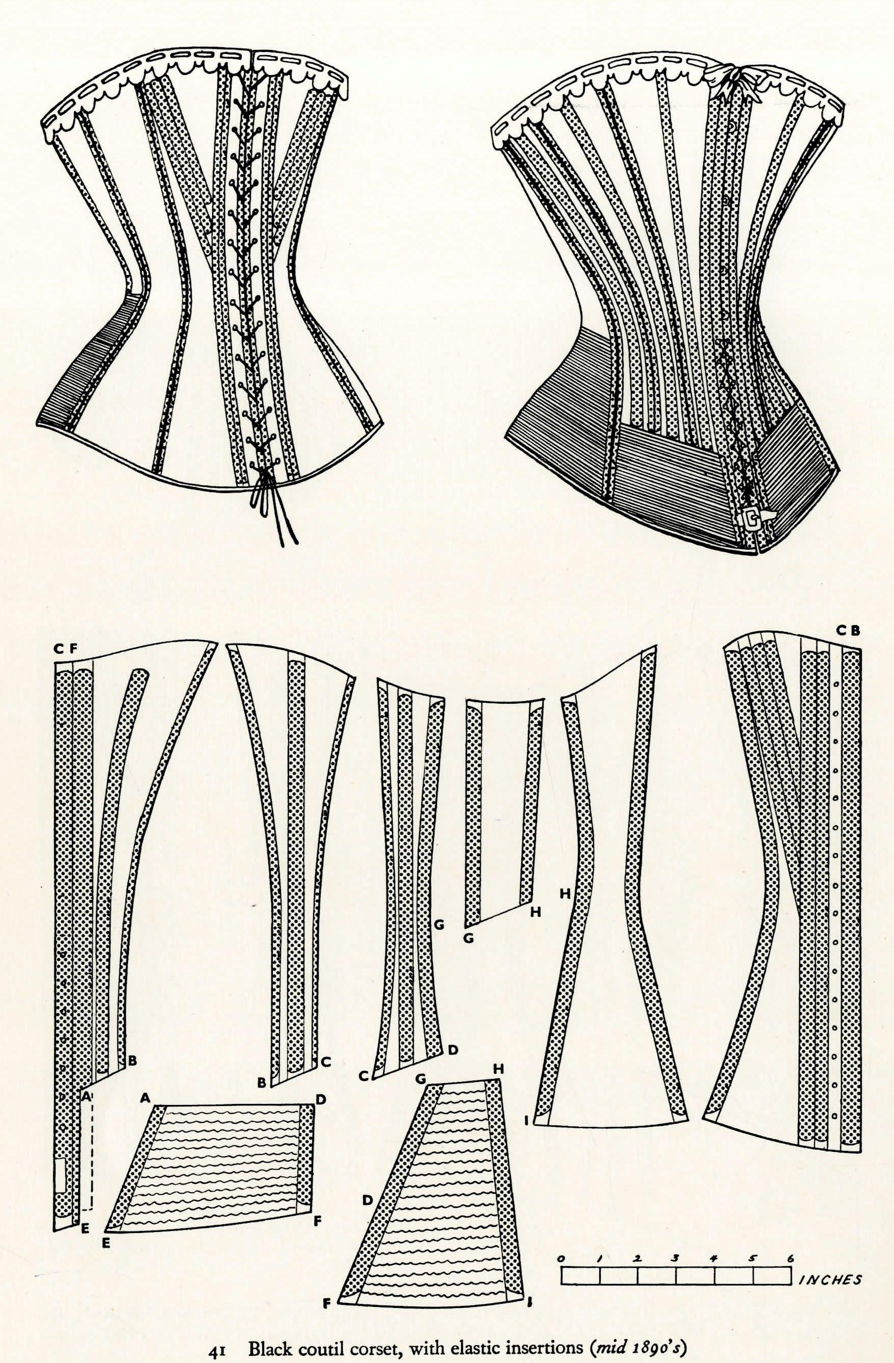 The Necessary Bones | costume | Pinterest | Corsé, Costura y Ropa