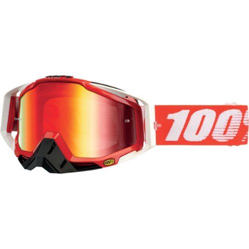Mirror Lens MX Motocross Dirtbike ATV 100/% Adult Strata Dirtbike ATV Goggles