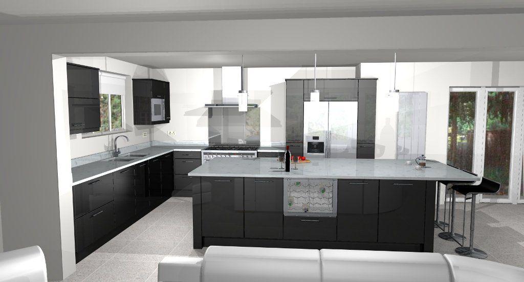 Google 3D Kitchen Design