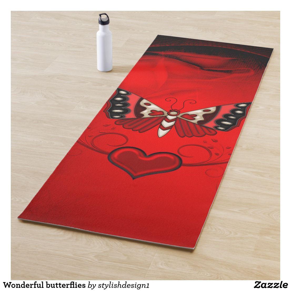 Wonderful butterflies yoga mat yoga mats