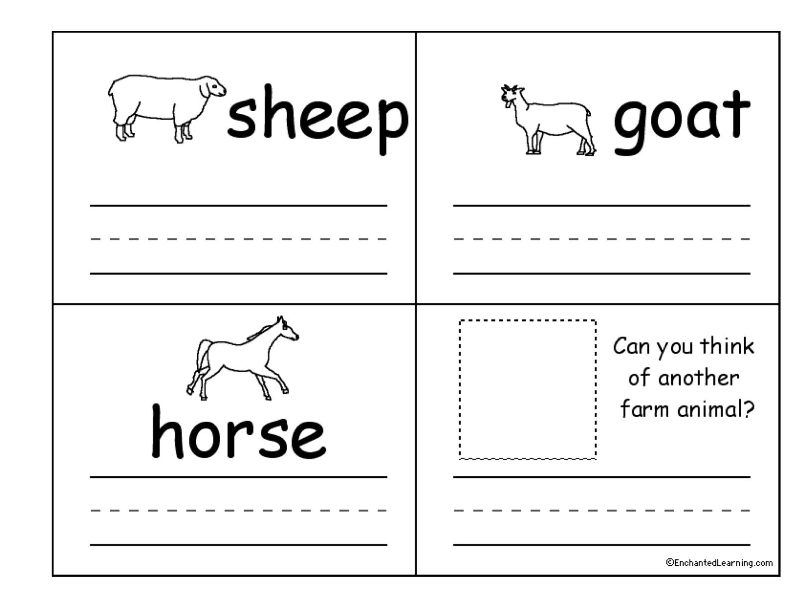 free farm worksheets for kindergarten Google Search – Farm Worksheets