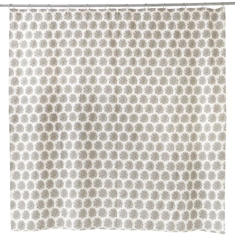 Thistle Shower Curtain Design By Allem Studio