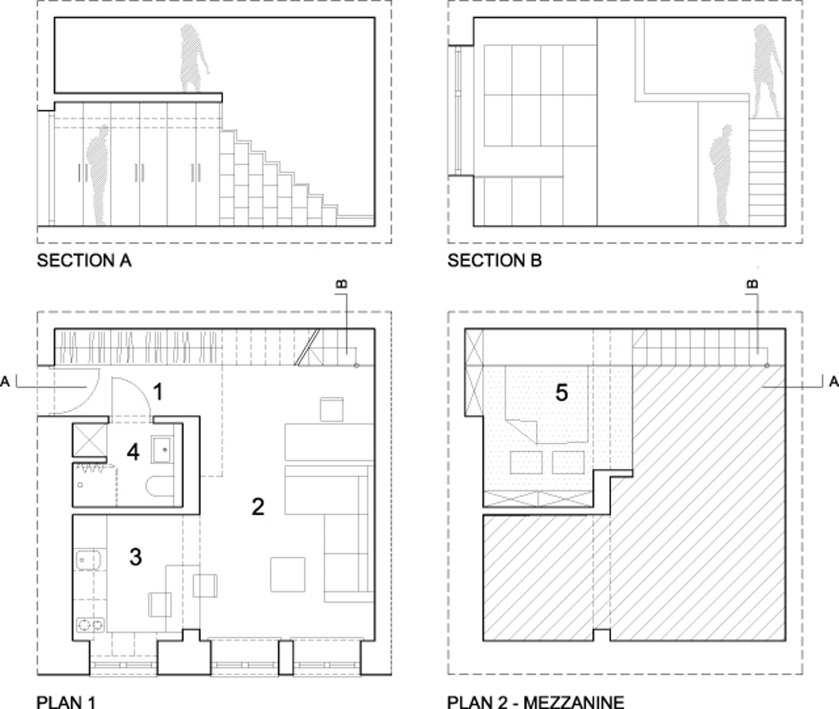 Tiny Apartment Tiny Loft Micro Apartment Mini Apartments