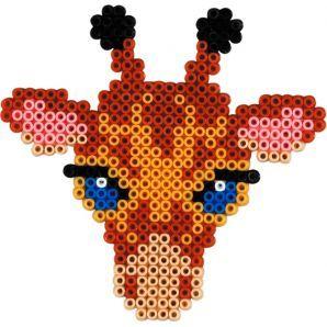 Hama Midi Bugelperlen Stiftplatte Weiss 292 Giraffe Eur 1 33