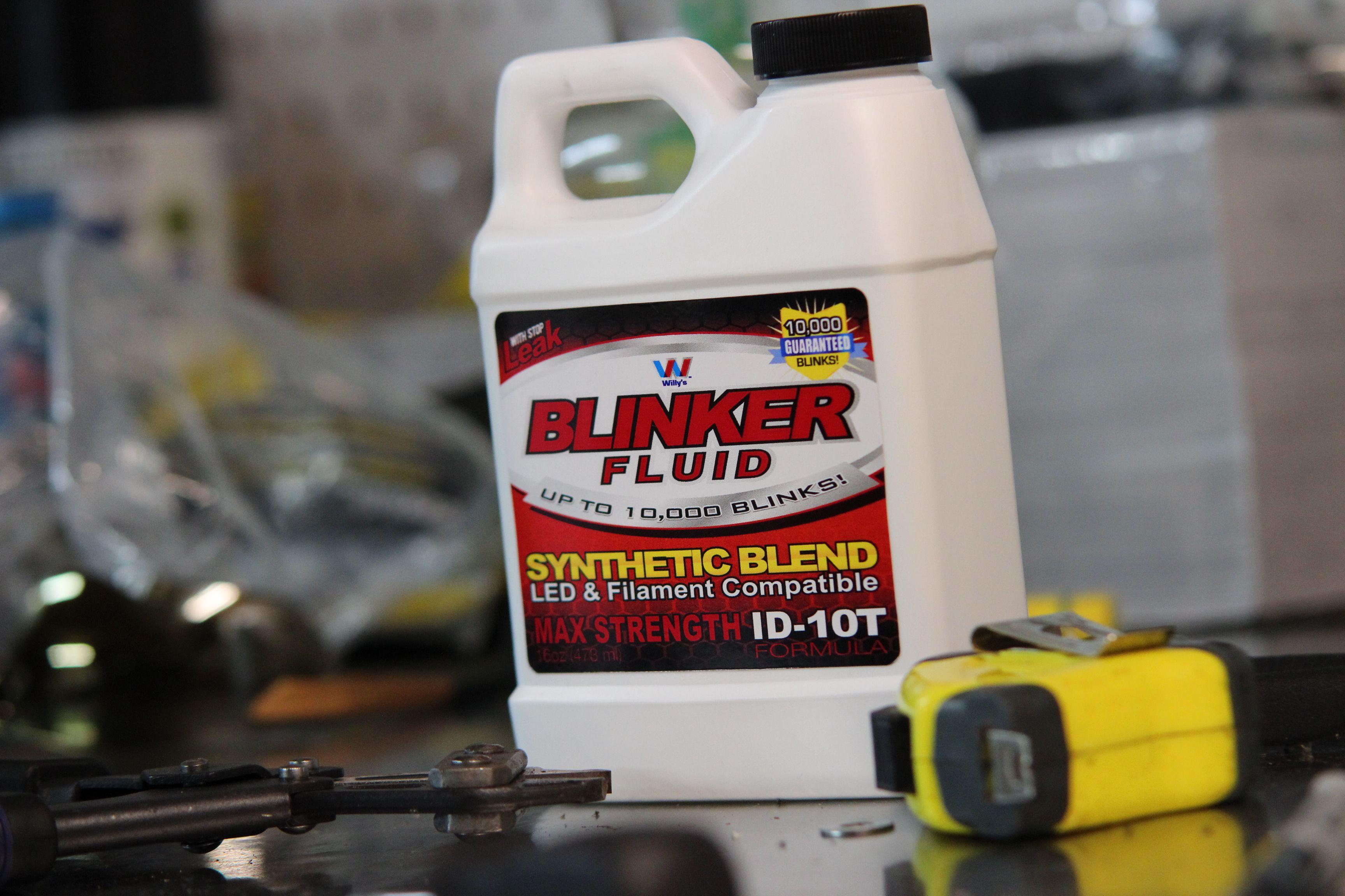 Blinker fluid works in any vehicle! www Blinker-Fluid us
