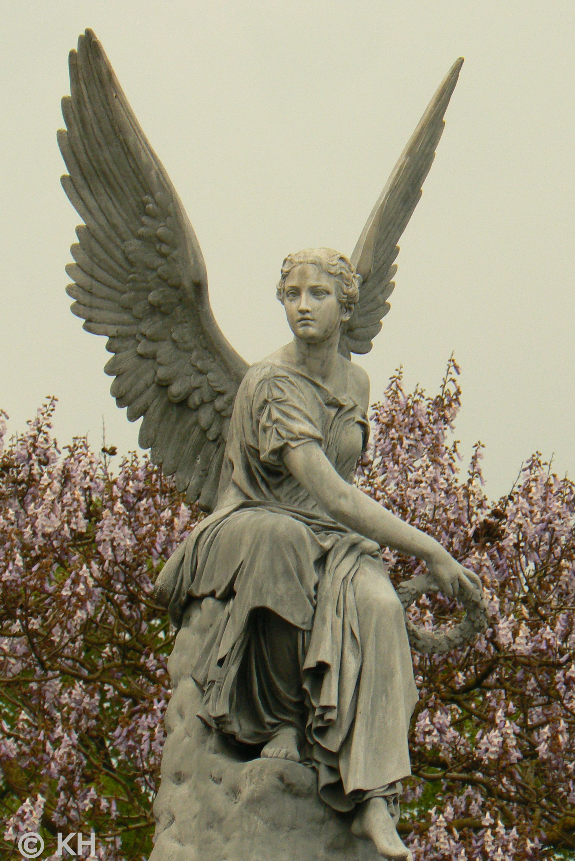 Rising Day Angel Bronze Statue by AA Weinman