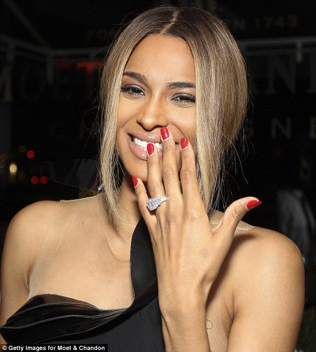 Future Proposed To Ciara On Her Birthday With A 15 Carat Diamond Ring