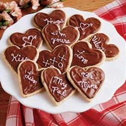 Frosted Valentine Cookies | Organic Recipe Book