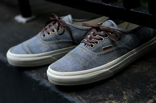 VANS Authentic California - Stained Light Blue  dcb81ff45