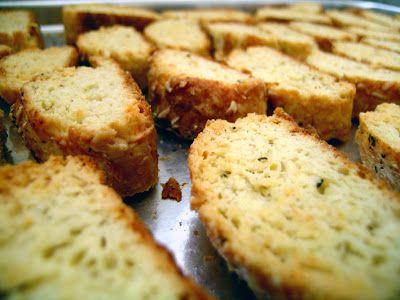 La Cucinetta: Biscotti de parmesão e pimenta-do-reino para uma tarde com café (Updated)