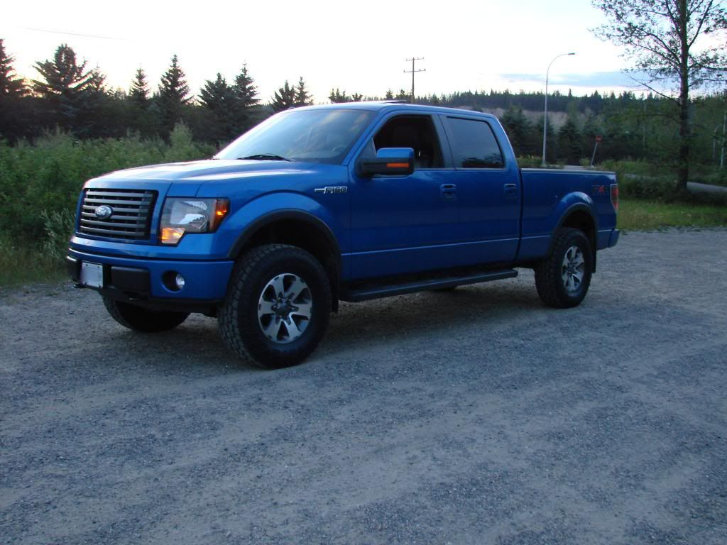Leveled supercrew 6 5ft bed trucks ford f150 forum community of ford truck fans