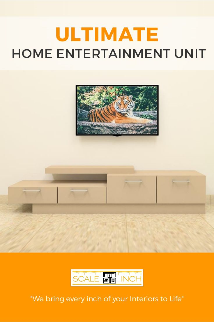 Latest Tv Unit Design: Get The Latest Modern TV Units Designed For Perfect Homes