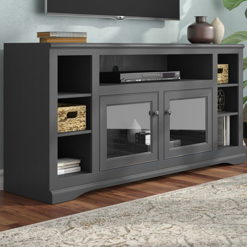 Wentzel Solid Wood Tv Stand For Tvs Up To 75 Solid Wood Tv Stand Cool Tv Stands Entertainment Center