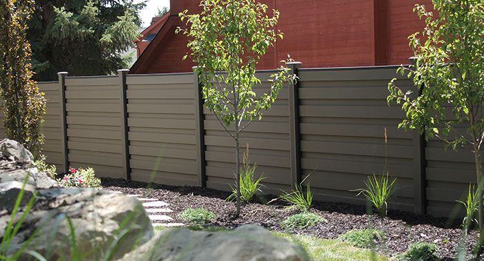What Materials Are Best For Building A Horizontal Fence What