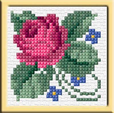 patrones flores en punto de cruz - Revistas de manualidades gratis ...