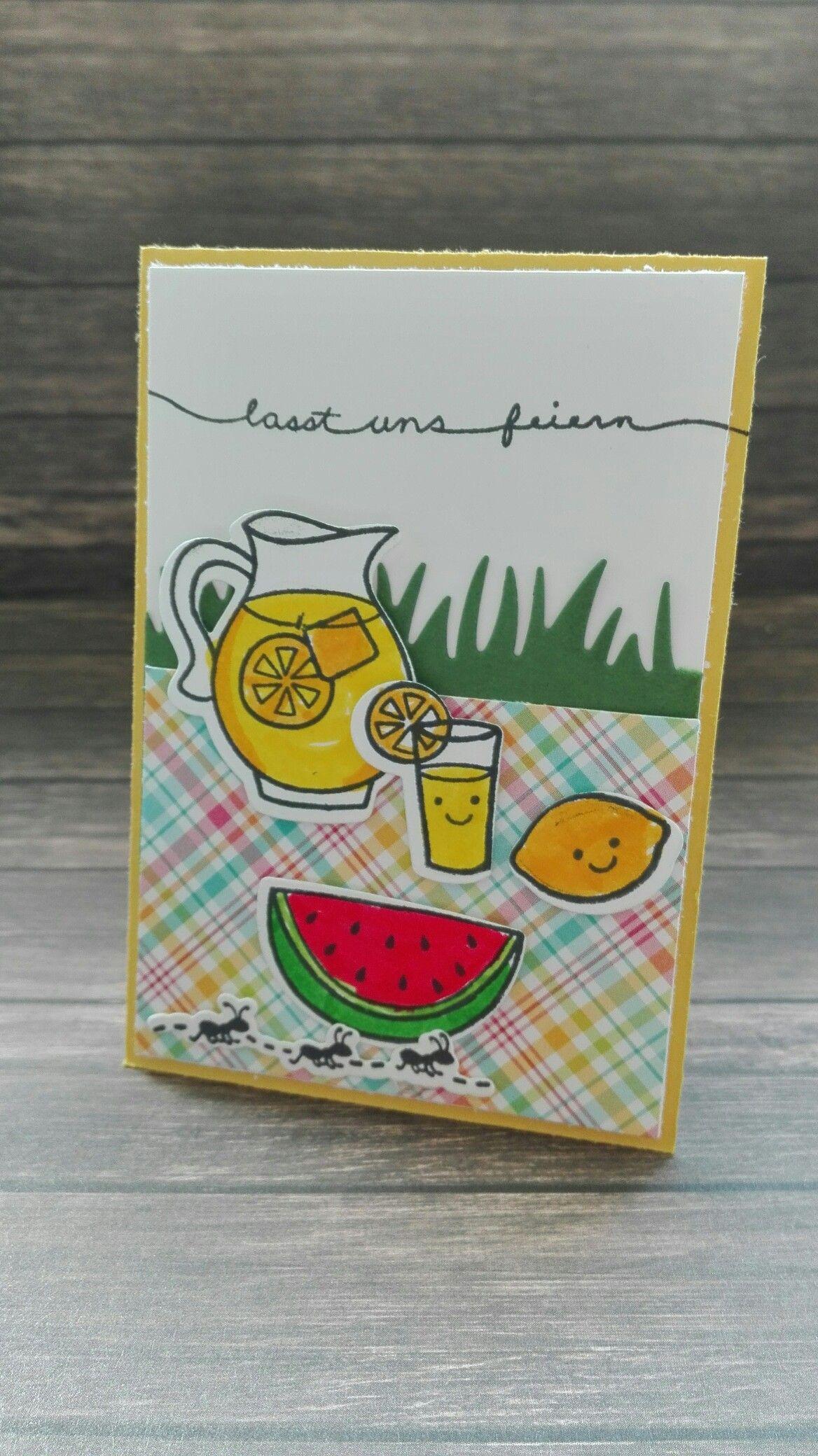 #lawnfawn #minikarte #happysummer
