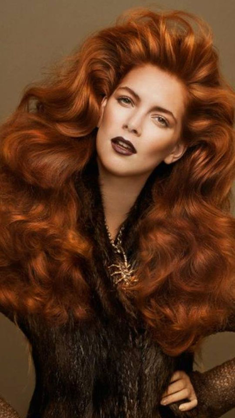hot and beautiful redheads hairstyle