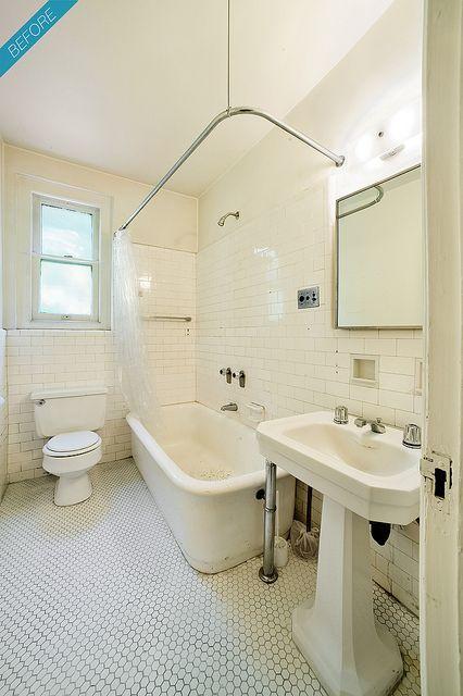 New York City Prewar Apartment Bathroom Before Apartment Bathroom Nyc Apartment Bathroom Bathroom Decor Apartment
