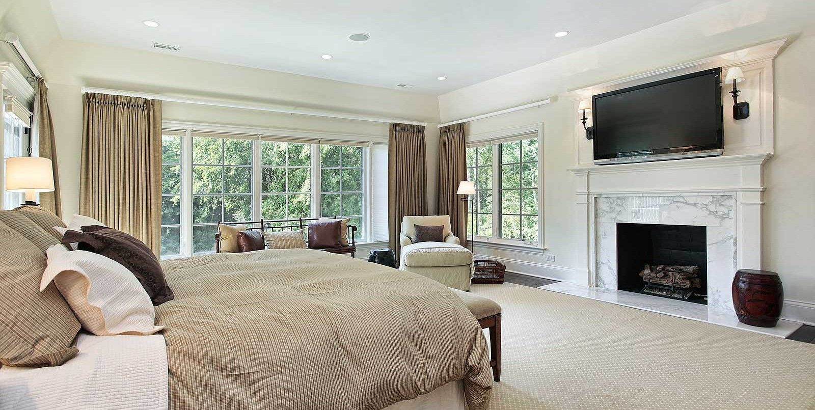 charming fireplace master bedroom decorating ideas | fireplace in master bedroom - yes giant tv - no | sleep ...