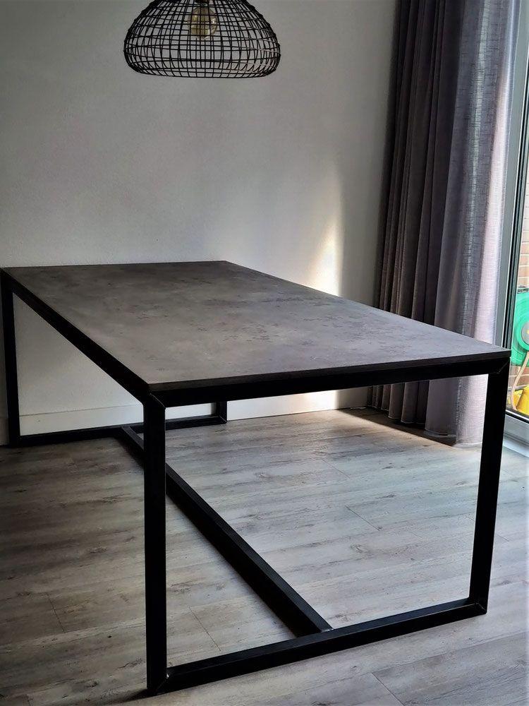 Stevige Side Table.Stevige Beton Cire Tafel Tafelframe Inspiratie In 2019