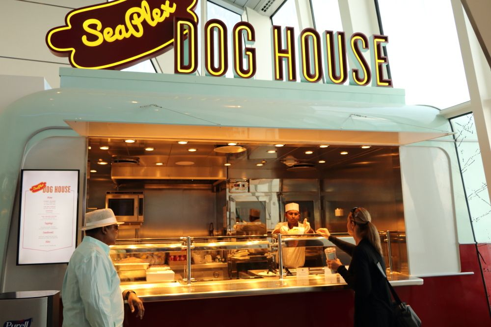 Anthem Of The Seas Hot Dog Seaplex Doghouse Anthem Of The Seas