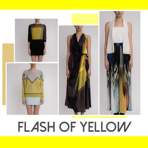 Flash of Yellow