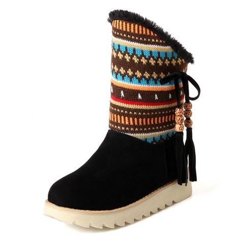 WOMENS LADIES GIRLS HI TOP PIXIE FUR CUFF LINED WINTER ANKLE BOOTS SHOES SIZE