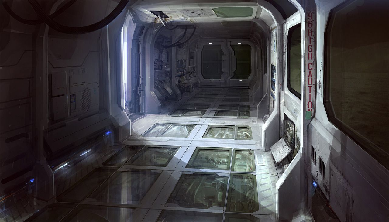Robots man, Robots - Awesome Sci-fi interior renderings ...