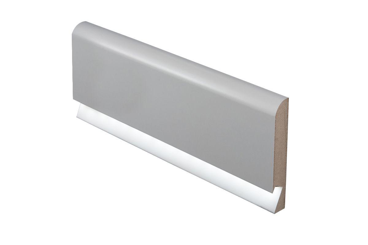 Nowość Listwa Przypodłogowa Led Białe 16x100mm Oświetlenie