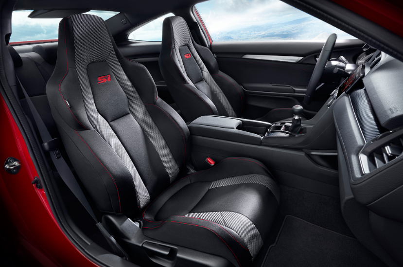 Honda Civic Si 2018 Interior Design Honda civic, Honda