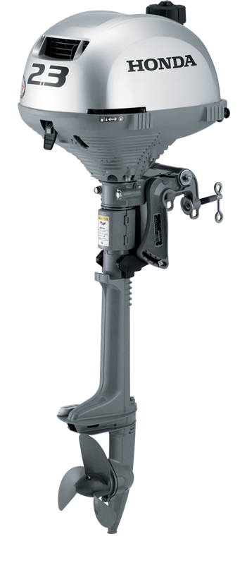 Honda s bf2 3 one of the world s lightest four stroke for Top rated outboard motors