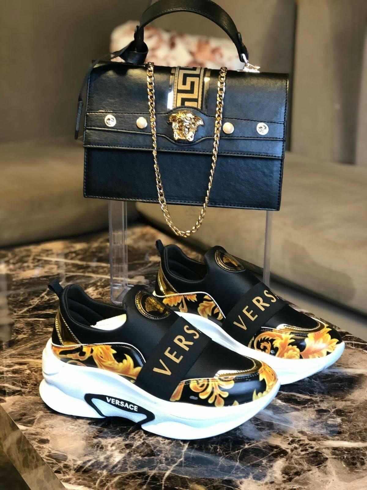 Versace shoes, Gucci shoes sneakers