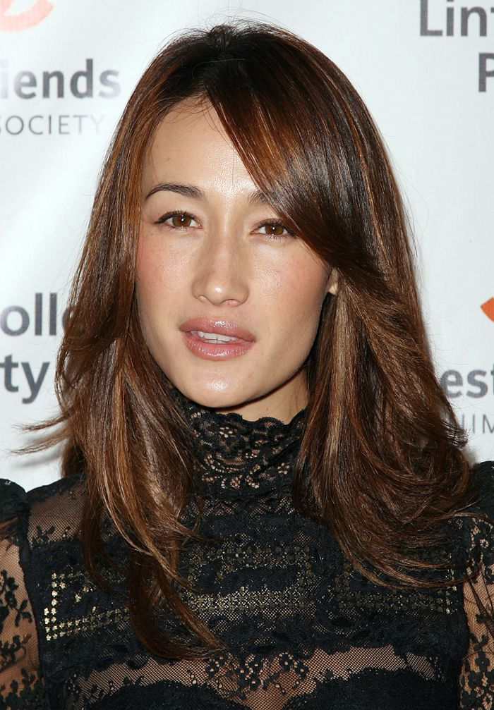 maggie q | maggie q brought her animal lover self to the lint roller party in ...