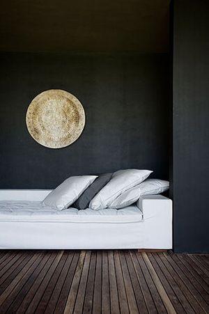Des salons en noir et blanc IDEES DECORATION Pinterest