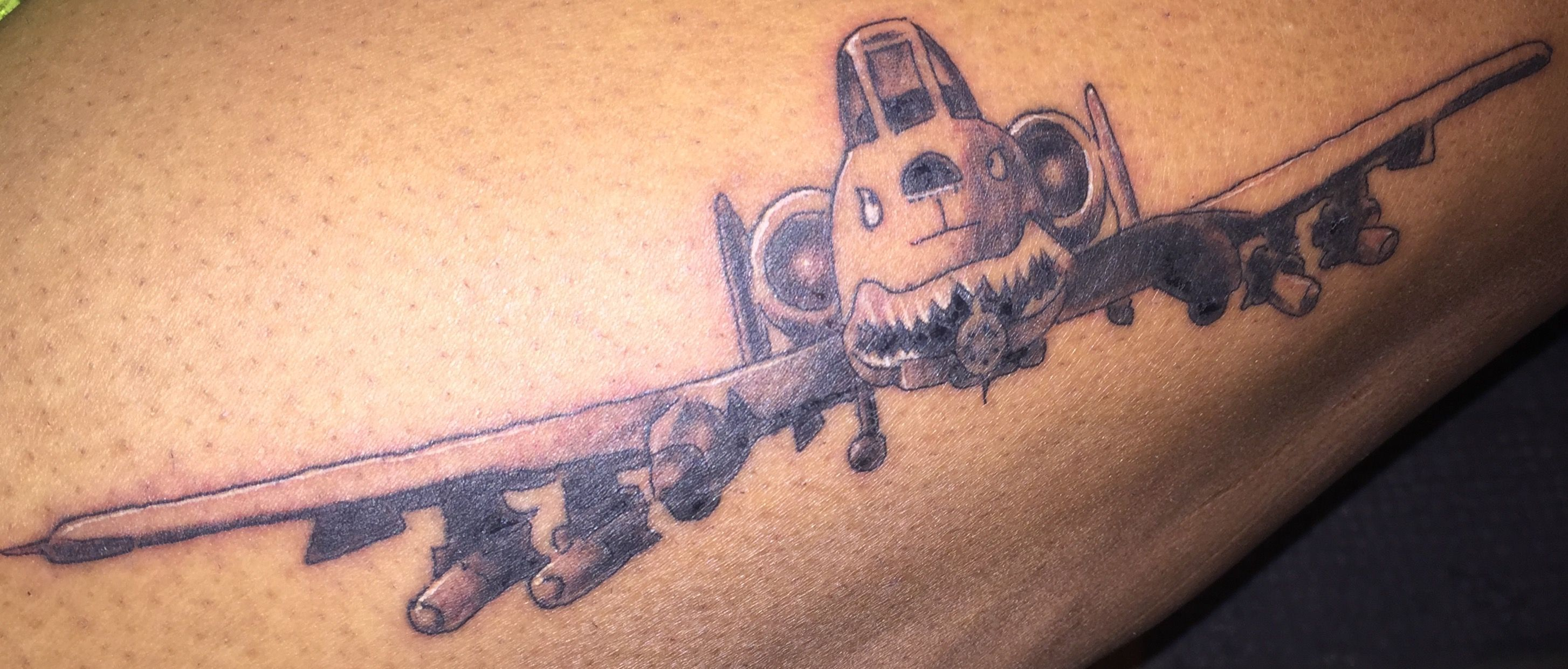 895315f79 A-10 warthog tattoo | Tatted up <3 | Tattoos, A10 warthog, Piercings