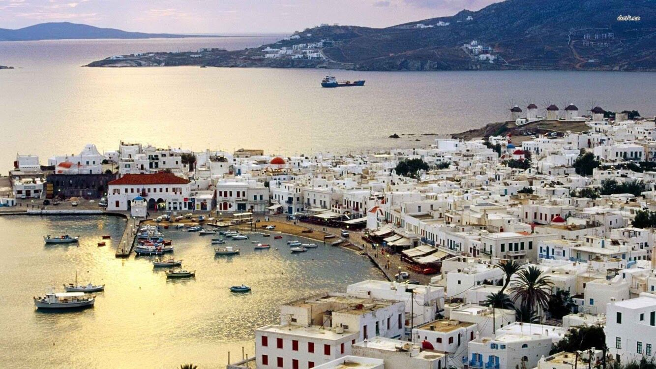 Mykonos is not Greece. That was the message from businesses in the windy island of Mykonos over the past few weeks while the Greek Government was participating in some of the most difficult negotiations of its recent history. http://www.cnbc.com/2015/07/21/what-greek-crisis-in-mykonos-the-party-dont-stop.html