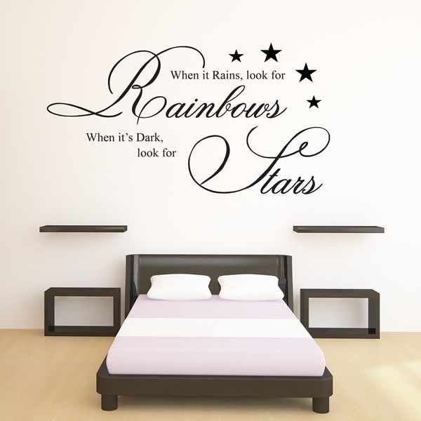 Word Stickers For Walls Uk Ideas