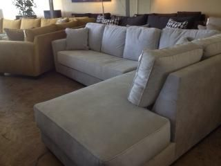 Sofas Sunset Chaise Sectional By Custom At Underground Furniture Modern Furniture Sofas Custom Sofa Sectional