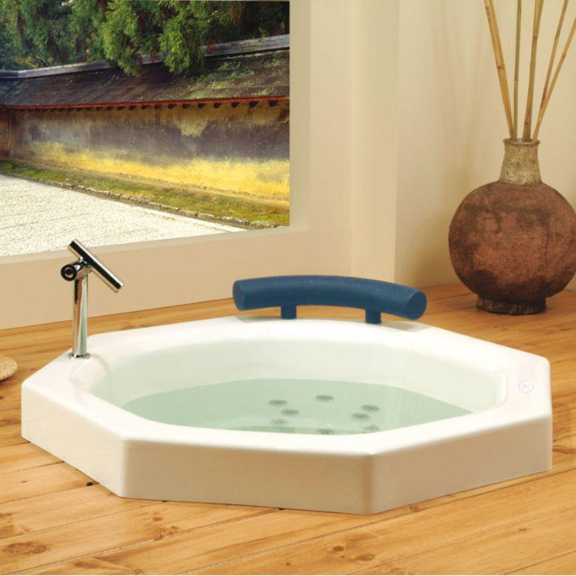 Mesmerizing Round Japanese Soaking Tub Photos - Exterior ideas 3D ...