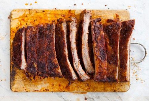 BBQ Ribs (Costine di maiale affumicate) | Un\'americana in cucina ...