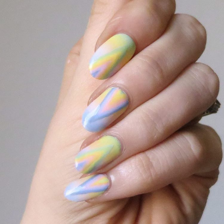 Psychedelic Nail Art By Ladycrappo Polished Pinterest Psychedelic