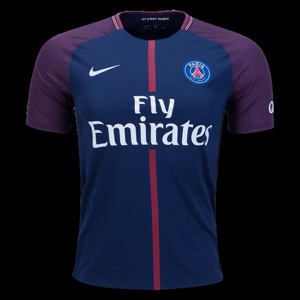 Maillot domicile du Paris Saint-Germain 2017/2018 Voici le nouveau maillot  domicile du
