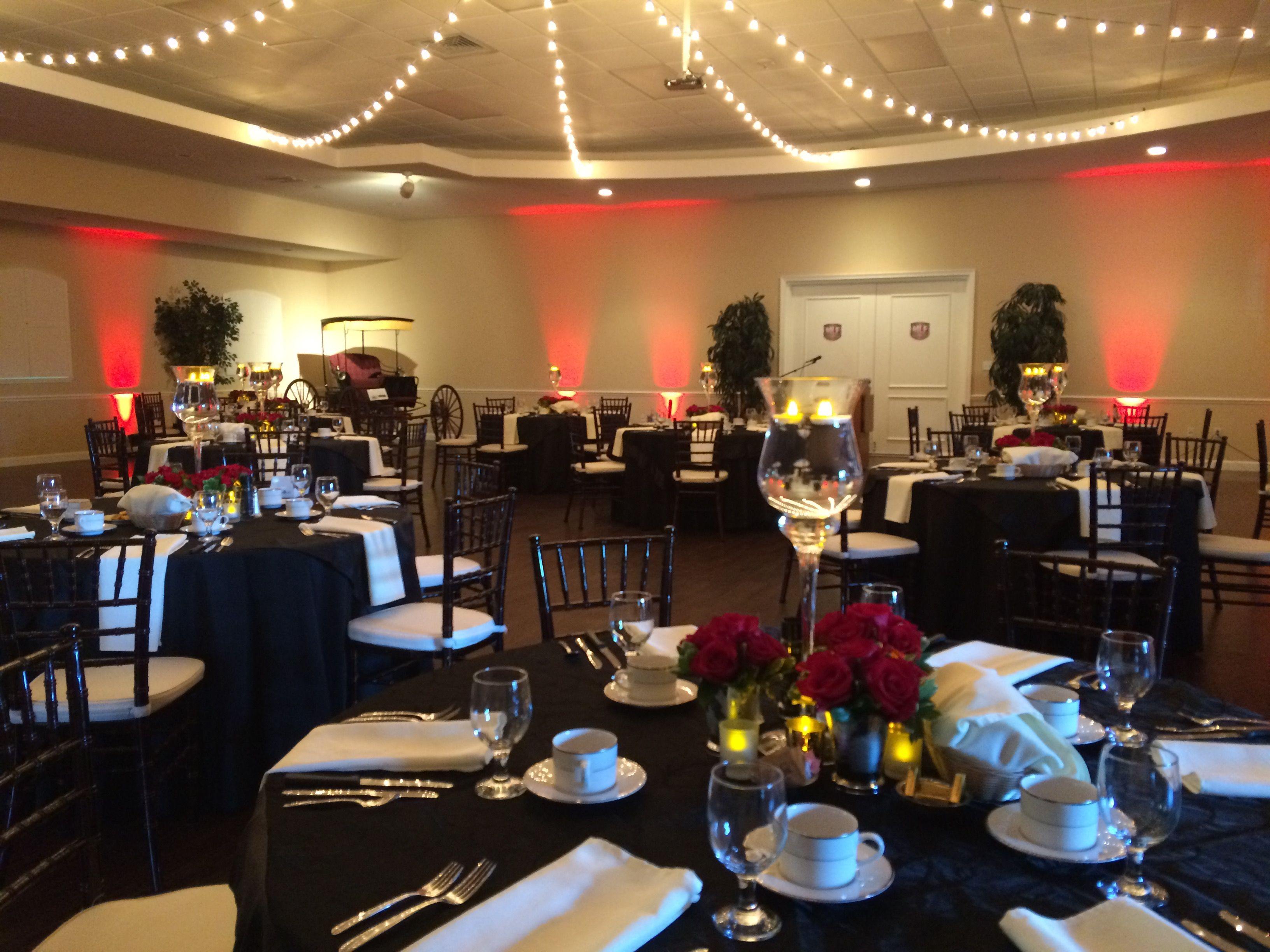 Wedding night decoration ideas  Second night of the Major League Fishing event Love the elegance of
