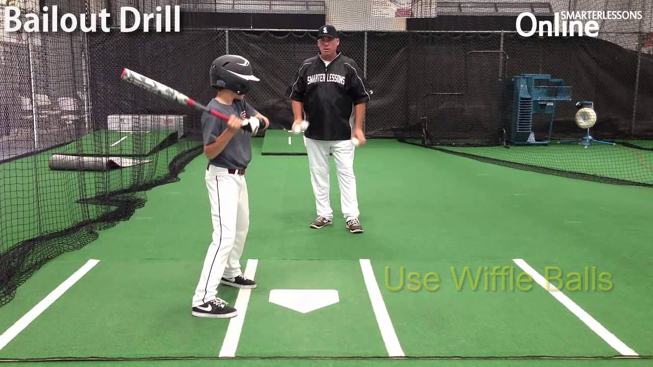 How to avoid stepping out in baseball baseball training