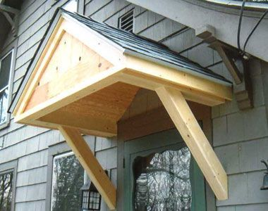 Adding a small front porch new roof on top of front for Small porch roof ideas
