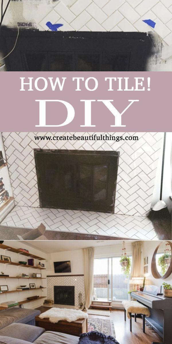 Beau Teach Yourself To Tile   Like A Boss! Lindsay Ferguson Will Tell You How. |  Decor Interior Design, Interiors And DIY Interior