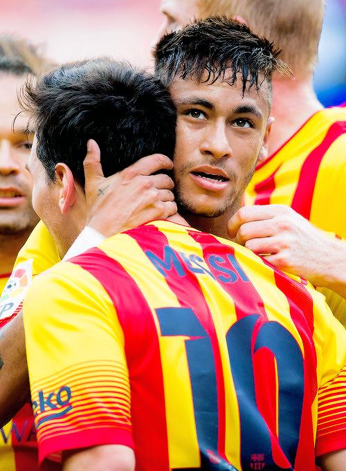 Messi y Neymar Jr.