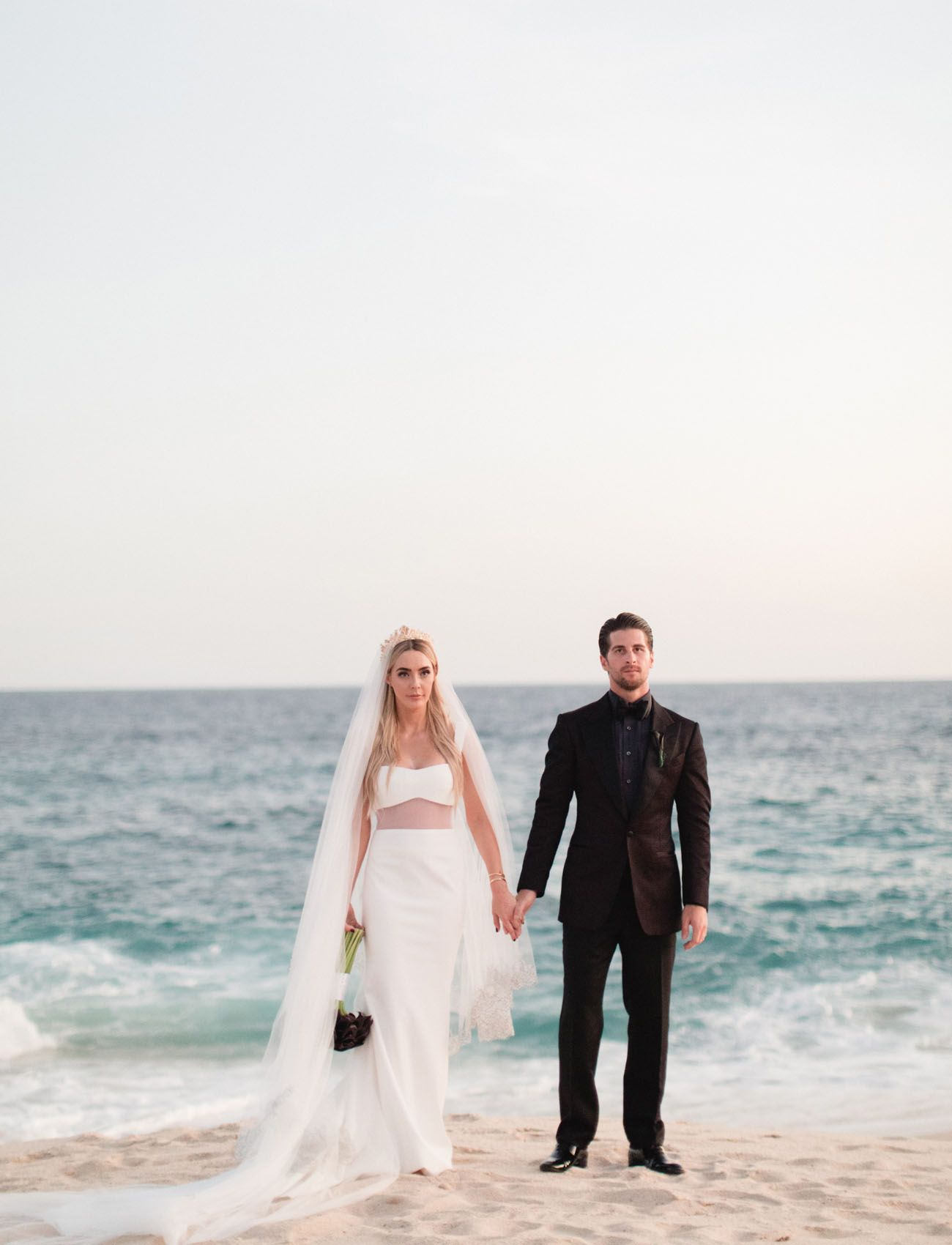 ccca607e840b The Skinny Confidential Wedding bold and dramatic wedding in cabo beach  portraits